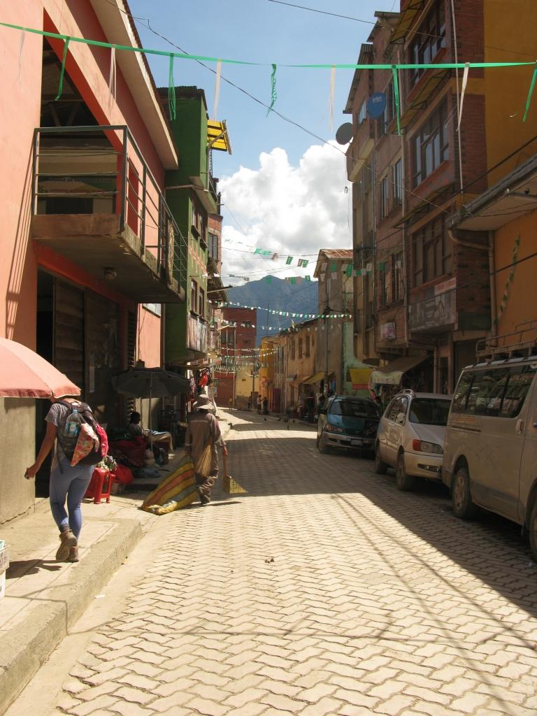Coroico Streets